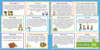 EYFS Ice Breaker Game Cards - EYFS, Early Years, Start of Term, Getting to Know You, Circle games, Learning Names, Bonding Activit