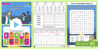 Year 2 Term 1A Week 2 Spelling Pack - Spelling Lists, Word Lists, Autumn Term, List Pack, SPaG