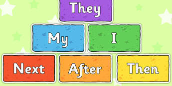Sentence Starters on Multicoloured Bricks - sentence, starters, multicoloured