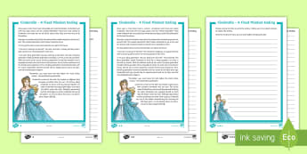 KS2 Cinderella Alternative Ending Differentiated Worksheet / Activity Sheets - fixed mindset, growth mindset, Carol Dweck, attitude, behaviour, ks2 writing.