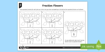 Calculating Equivalent Fractions Differentiated Worksheet / Activity Sheets - fraction, equivalent, equivalent fractions, equal, equal fractions, Calculating Equivalent Fractions
