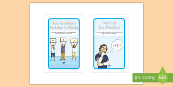 Maths Problem Solving Strategies IKEA Tolsby Frame - Maths Problem Solving Strategies IKEA Tolsby Frame - Numeracy, maths, problem solving, strategies, C