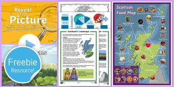 Free Scotland Taster Resource Pack - free sample pack, twinkl, scotland teaching, scottish teachers, scottish resources