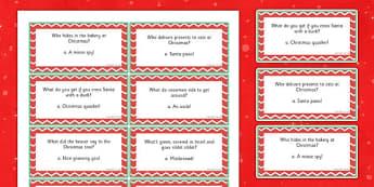 Christmas Cracker Jokes - christmas cracker, jokes, christmas