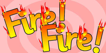 Fire Fire Display Lettering - fire, displays, lettering, letters