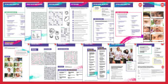 Sport Relief 2018 Secondary Quiz and Games Activity Pack - sport relief, fund raising, sport, raise money, step challenge,