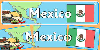 Mexico Display Banner - mexico, display banner, display, banner