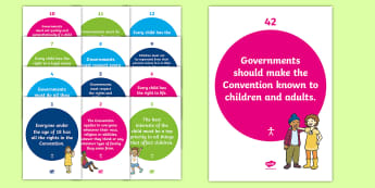Children's Rights Display Display Pack - CfE, Health and Wellbeing, PSHE, Rights Respecting Schools, UN Charter Rights of the Child, Children's Rights, Responsibilities