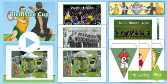 Bledisloe Cup Display Pack - bledisloe Cup, rugby, australia, new zealand, Wallabies, all blacks, display pack, resource pack