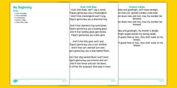 Elderly Care Life History Book My Beginnings Songs - Elderly, Reminiscence, Care Homes, Life History Books