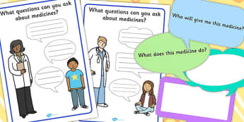 Questions To Ask About Medicines Activity - Questions, Medicine