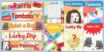 Summer Fair Resource Pack - ESL Summer Fair Resources