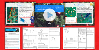 Materials Components and Ingredients Lesson 6: LED Christmas Tree - Electronics, Rapidonline, Systems & Control, Design Engineering, PCB, LED, Circuits, Manufacturing,