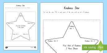 Years 5 and 6 Chapter Chat Kindness Star Activity to Support Teaching On Wonder by R.J. Palacio - literacy, reading, chapter chat, wonder, RJ Palacio