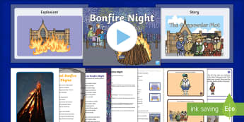 KS1 Bonfire Night Class Assembly Pack - Fireworks, 5th November, Guy Fawkes, Celebrations, Assembly Ideas