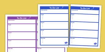 PPA Time 'To-Do' List For Teachers - ppa time, to-do list, teachers