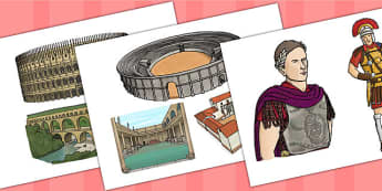 The Romans Picture Cut Outs - romans, cut outs, cut-outs, cutting