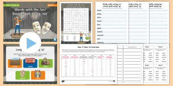 Year 3 Term 1A Week 4 Spelling Pack - Spelling Lists, Word Lists, Autumn Term, List Pack, SPaG