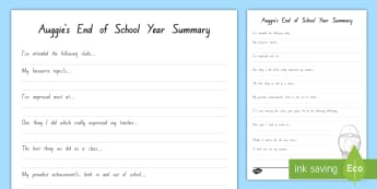 Auggie's End of School Year Summary Activity to Support Teaching On Wonder by RJ Palacio - reading, chapter chat, literacy, wonder, RJ Palacio