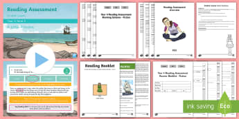 Year 4 Term 3 Fiction Reading Assessment Guided Lesson Teaching Pack - SATs, comprehension, KS2, read, guidance, assess, a little princess, fiction