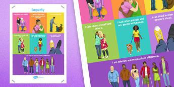 Empathy Poster - empathy, display poster, display, poster, emotions