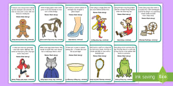 Name That Story Storytelling Game - National Storytelling Week, Traditional Tales, Fairy Tales.