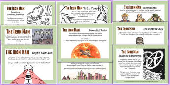 The Iron Man Challenge Posters - stories, story books, display