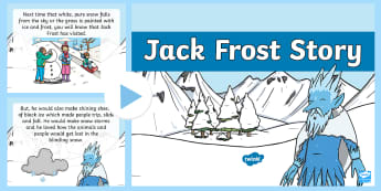 The Story of Jack Frost PowerPoint - Winter, Jack Frost, Powerpoint, seasons, traditional tales