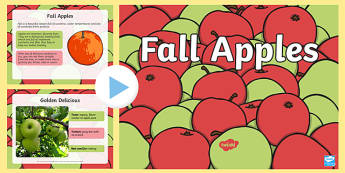 Fall Apples PowerPoint