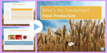 Food Production What's the Connection? PowerPoint - KS4 What's the Connection?, Fisheries, Famine, Overfishing, Quota, Biotechnology, Biological Contro