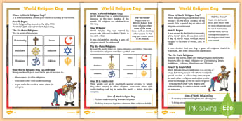 KS1 World Religion Day Differentiated Fact File - Baha'i, Spiritual Assembly, Retrieve Information, Non Fiction Reading, Religious Education