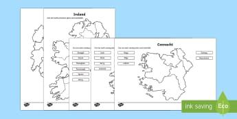 Build Ireland Jigsaw Activity Resource Pack-Australia