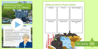 Getting Rid of Plastic Pollution: Is It Just a Dream? Debate Pack - green, environment, pollution, discussion, ks3, tories out, plastic, microbeads