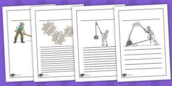 Forces Writing Frames - forces, writing frame, writing, friction