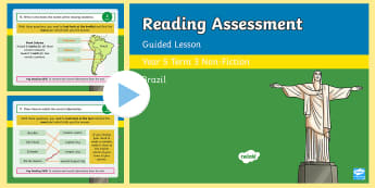 Year 5 Reading Assessment Non-Fiction Term 3 Guided Lesson PowerPoint - Year 3, Year 4 & Year 5 Reading Assessment Guided Lesson PowerPoints, KS2, reading, read, assessment