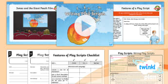 PlanIt Y4 Explorers: James and the Giant Peach Lesson Pack Play Scripts 5 - Explorers: James and the Giant Peach, james, giant the peach, literacy, English, Roald Dahl, story,