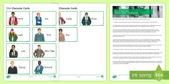 DNA Character Cards Pack