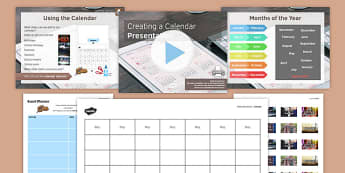 Creating a Calendar PowerPoint