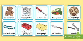 Cartes à trier : Les objets magnétiques - Aimant, Force, Métaux, Attraction, Répulsion, cycle 1, cycle 2, Sciences, Magnetism,