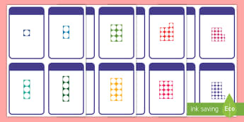 Number Shape 0-50 Matching Cards - Number Shape Matching Cards 0-30 - number, shape, matching, cards, match,Tch,shaoe, mathching
