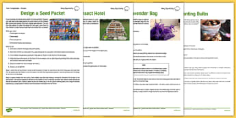 Gardening Club Autumn 1 Activity Pack - gardening club, resource pack, pack