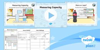 PlanIt Maths Y1 Measurement Lesson Pack Measuring Capacity (1)