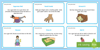 Sensory Brain Break KS1-2 Activity Cards - Sensory brain breaks, brain breaks, sensory processing, ASD, independent working, P Scales, P Levels