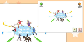 Special Olympics Mind Map - special olympics, mind map, map