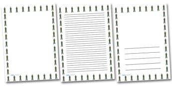 Male Paramedic Portrait Page Borders- Portrait Page Borders - Page border, border, writing template, writing aid, writing frame, a4 border, template, templates, landscape