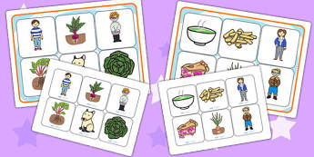 Oliver's Vegetables Matching Mat SEN - Oliver's vegetables, SEN