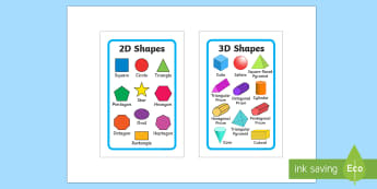 2D and 3D Shapes IKEA Tolsby Frame - 2d shapes, 3d shapes, poster, display,shpes,2d shaes, 2Dshape, 3d shaoes, 2d shaoes, 3dshape, 2d sha