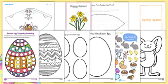 Easter Art and Craft Activity Pack - Easter, lent, craft