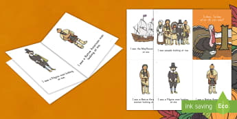 Thanksgiving Emergent Reader - thanksgiving day, the first thanksgiving, turkey, sight words, early reader, pre-k litearcy, kinderg