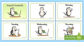 Jasper's Beanstalk - Reading Resources - Twinkl